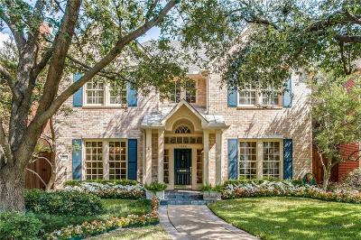 University Park Single Family Home For Sale: 3004 Rosedale Avenue