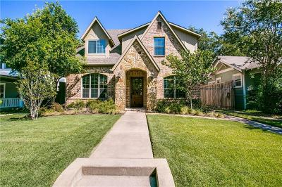 Dallas Single Family Home Active Contingent: 5619 Miller Avenue