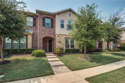 Dallas County, Denton County Townhouse Active Option Contract: 8611 Augustine Road