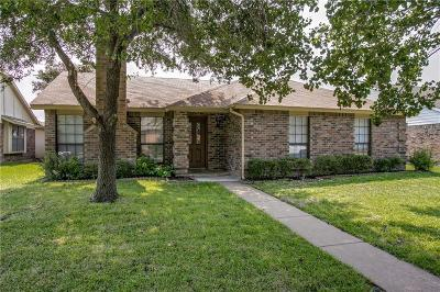 Mckinney Single Family Home Active Option Contract: 4417 Seville Lane