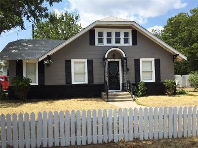 Brownwood Single Family Home For Sale: 2011 Avenue K