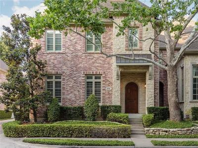 Dallas TX Townhouse For Sale: $1,010,000