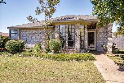 Wylie Single Family Home Active Option Contract: 505 Kylie Lane