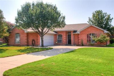 Kennedale Single Family Home Active Option Contract: 1406 Derby Drive