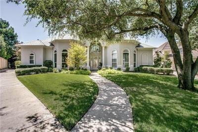 Plano Single Family Home Active Option Contract: 5132 Gillingham Drive