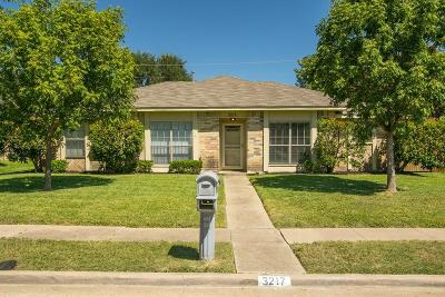 Plano Single Family Home Active Option Contract: 3217 Santana Lane
