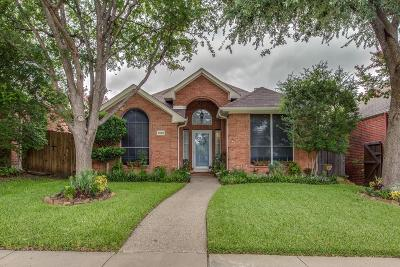 Plano Single Family Home Active Option Contract: 6932 Barbican Drive