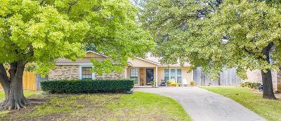 Euless Single Family Home Active Option Contract: 400 Moss Hill Lane