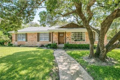 Dallas Single Family Home Active Option Contract: 8306 Van Pelt Drive