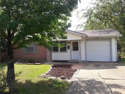 Haltom City Single Family Home Active Option Contract: 3737 Earle Drive