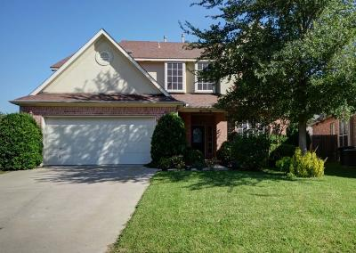 Fort Worth Single Family Home Active Option Contract: 4809 Campfire Court