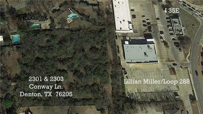 Denton Residential Lots & Land For Sale: 2301 Conway Lane