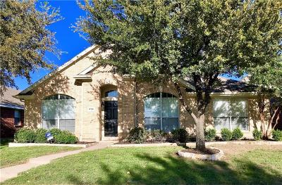 Allen Single Family Home Active Option Contract: 1726 River Oaks Drive
