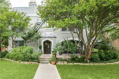 Dallas Single Family Home For Sale: 6205 La Vista Drive