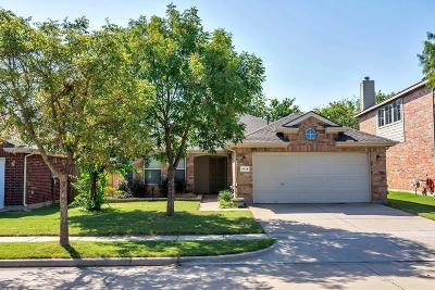 North Richland Hills Single Family Home Active Option Contract: 6928 Prairie Dawn Lane
