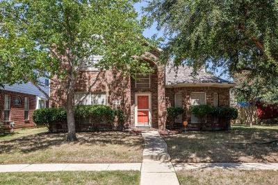 Lewisville Single Family Home Active Option Contract: 413 Elam Drive