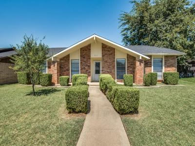 The Colony Single Family Home Active Option Contract: 4913 Jennings Drive