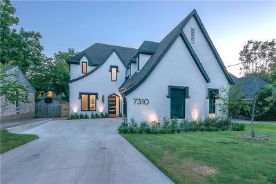 Dallas Single Family Home For Sale: 7310 La Vista Drive