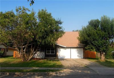 Irving Single Family Home Active Option Contract: 3033 Cody Street