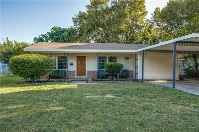 Haltom City Single Family Home For Sale: 5124 Ira Street