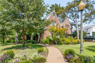 Dallas Single Family Home For Sale: 3725 Cragmont Avenue