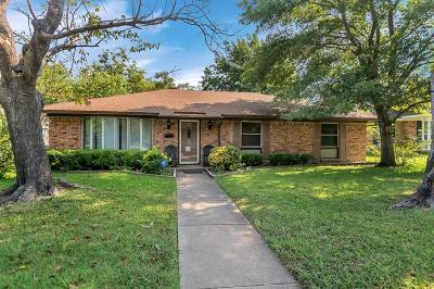 Dallas Single Family Home Active Option Contract: 3529 Delford Circle