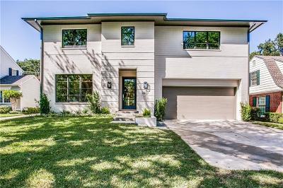 Dallas Single Family Home For Sale: 6437 Bob O Link Drive
