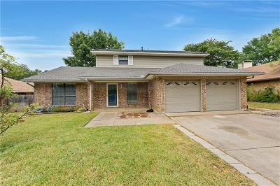 Euless Single Family Home Active Option Contract: 509 Hilton Drive