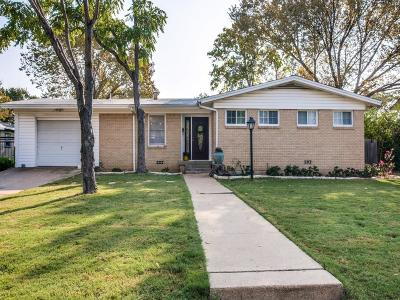 North Richland Hills Single Family Home Active Contingent: 4700 Vance Road