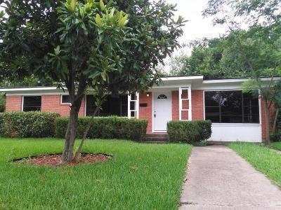 Dallas Single Family Home For Sale: 10718 Cotillion Drive