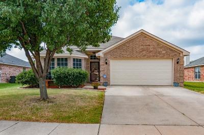 Saginaw Single Family Home Active Option Contract: 521 Cambridge Drive