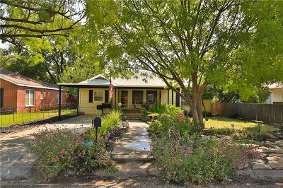 Abilene Single Family Home For Sale: 1009 Blair Street