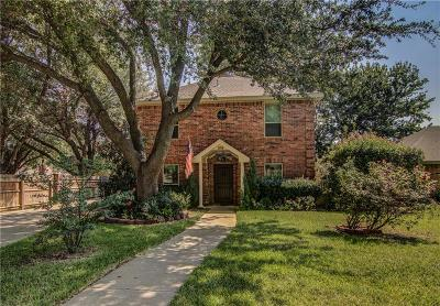 Grapevine Single Family Home Active Option Contract: 536 Dove Creek Place