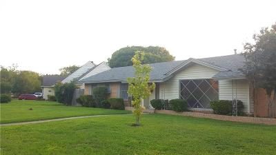 Dallas Single Family Home Active Option Contract: 6721 Golf Hill Drive