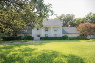 Keller Single Family Home Active Option Contract: 705 Dana Drive