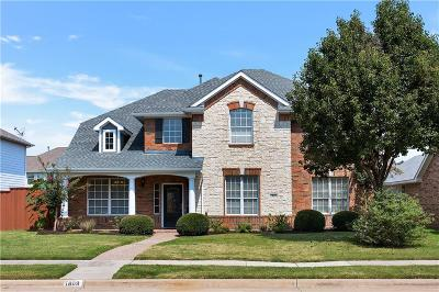 Allen Single Family Home For Sale: 1809 Olympia Drive