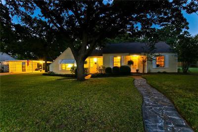 River Oaks Single Family Home Active Option Contract: 412 Hassett Avenue