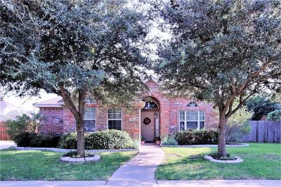 Allen Single Family Home Active Option Contract: 1720 Hackberry Branch Drive