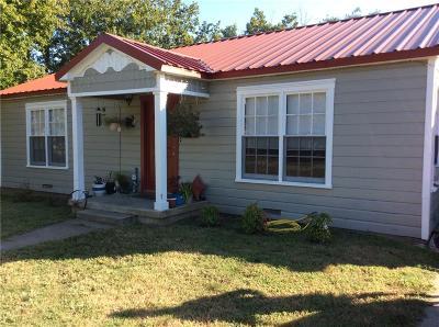 Groesbeck, Kosse Single Family Home For Sale: 816 W Navasota Street