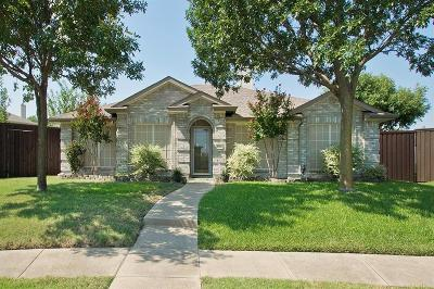 Allen Single Family Home Active Option Contract: 1702 Solitude Court