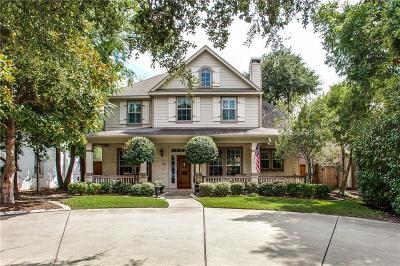 University Park Single Family Home For Sale: 2821 Lovers Lane