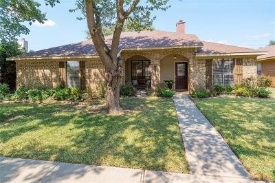 Coppell Single Family Home Active Option Contract: 628 Phillips Drive
