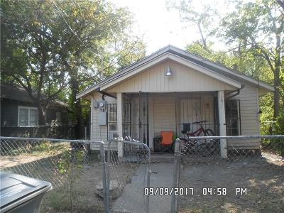 Dallas Single Family Home For Sale: 1617 Caldwell Street