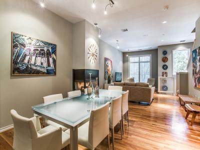 Dallas Condo Active Option Contract: 4310 Buena Vista Street #14
