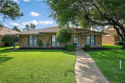 Garland Single Family Home Active Option Contract: 1014 Columbine Drive