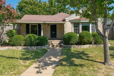 Dallas Single Family Home Active Option Contract: 622 Tenna Loma Court