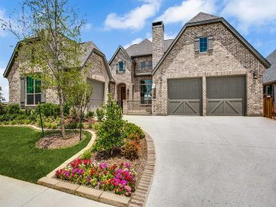 Frisco Single Family Home Active Contingent: 3912 Marble Hill Road