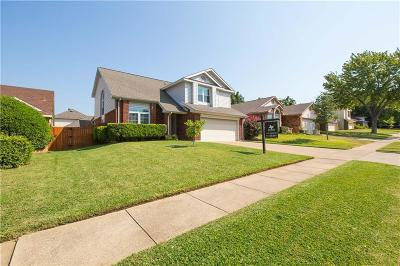Grapevine Single Family Home For Sale: 1424 Mockingbird Drive