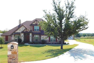 Weatherford Single Family Home For Sale: 195 Brook Hollow Lane