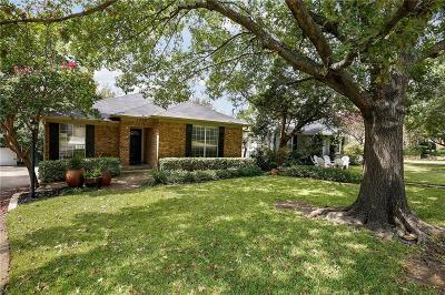Dallas Single Family Home Active Option Contract: 7206 La Vista Drive